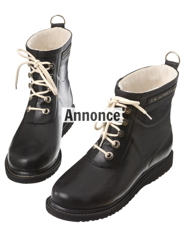 Ilse Jacobsen gummistøvler udsalg - Find dem billigt på tilbud her