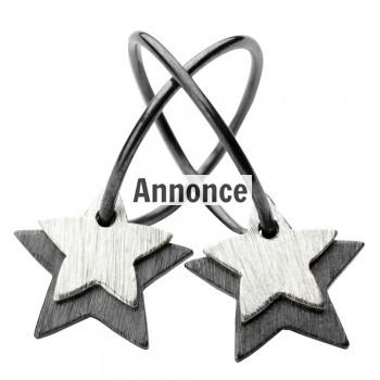 dobbelt stjerne øreringe fra pernille corydon