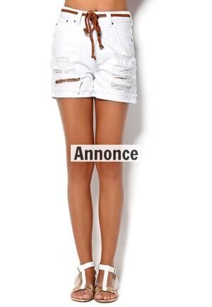billige højtaljede shorts