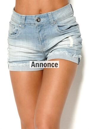 højtaljet shorts