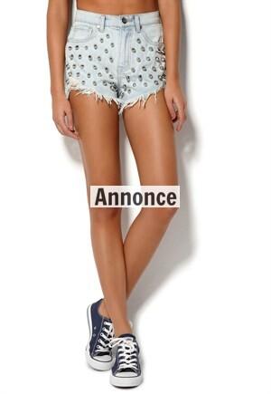 jeansshorts i denim