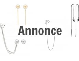 øreringe med kæde til kvinder
