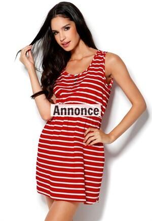 billige stribede kjoler