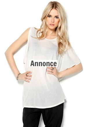 hvid oversize t-shirt